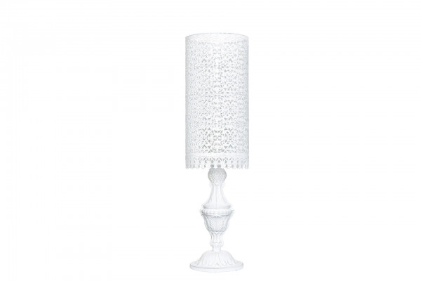 Lampe zylinderform Shabby chic