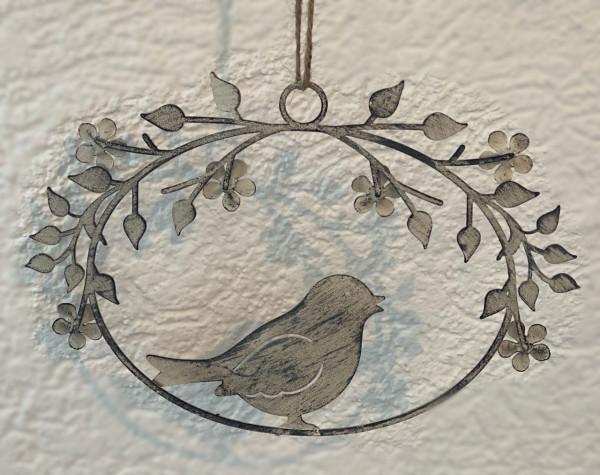 Hänger mit Vogel