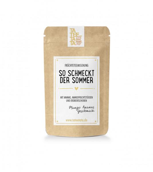 """Tee """"So schmeckt der Sommer"""" von Tateetata"""