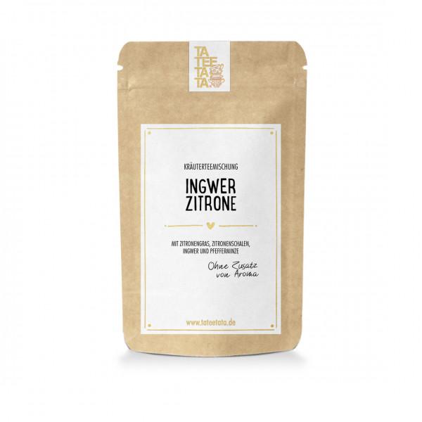 Tee Ingwer Zitrone von Tateetata