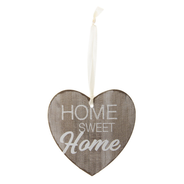 """Herz zum Aufhängen """"Home sweet Home"""", Clayre&Eef"""