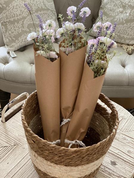 """Blumenstrauss """"Lavendel"""" künstlich"""