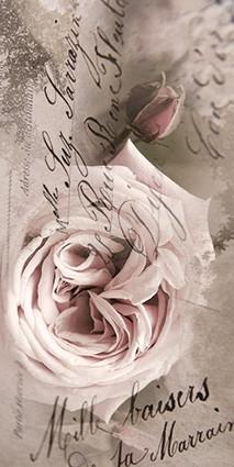 Karte Vintage Rose