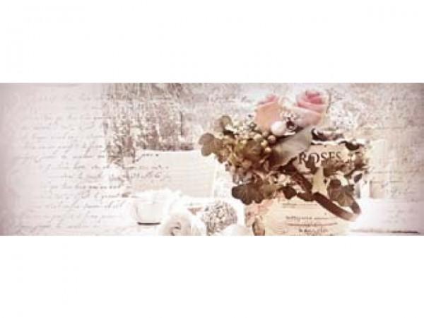 Geschenkanhänger Rosen rosa-weiss