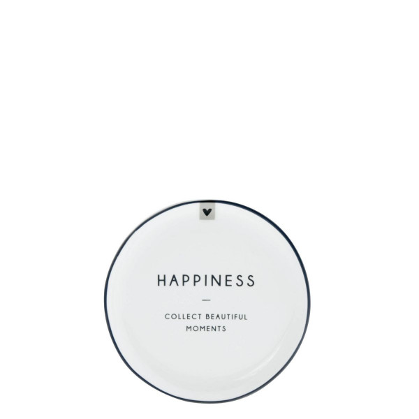 """Teller mini """"HAPPINESS"""" - Bastion Collections"""