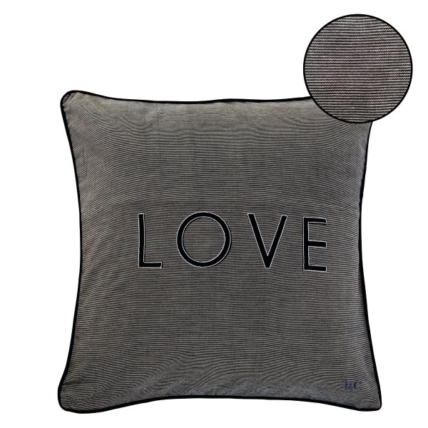 """Kissenhülle """"Love"""" - Bastion Collections"""