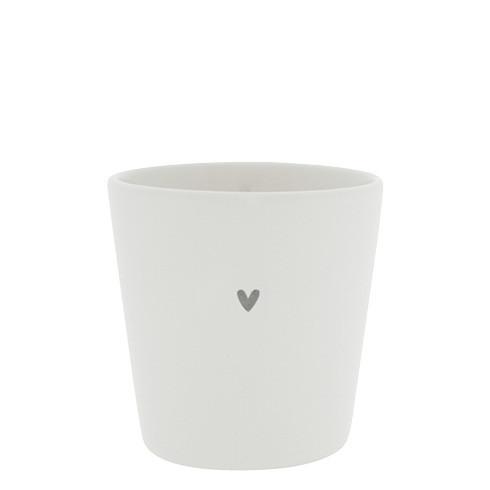 Tasse ohne Henkel mit kleinem Herz, Bastion Collections