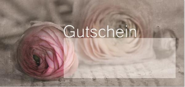 """Karte """"Gutschein"""""""