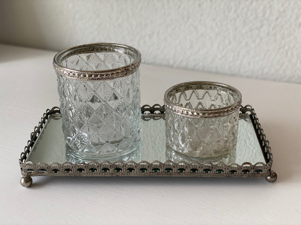Tablar für Teelichter, Clayre&Eef