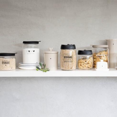 Vorratsglas mit Vakuumdeckel gross, Bastion Collections