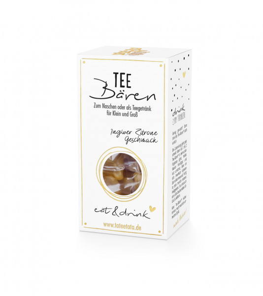 Tee-Bären Ingwer Zitrone von Tateetata