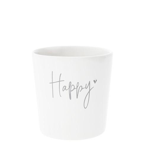 Tasse Happy ohne Henkel von Bastion Collections
