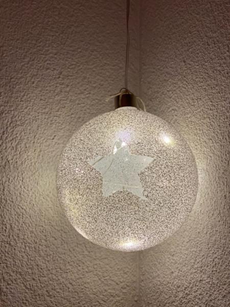 Weihnachtskugel LED Gross