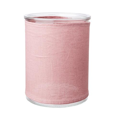 Leinenüberzug rosa (M)