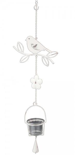 Girlande Vogel mit Teelichthalter