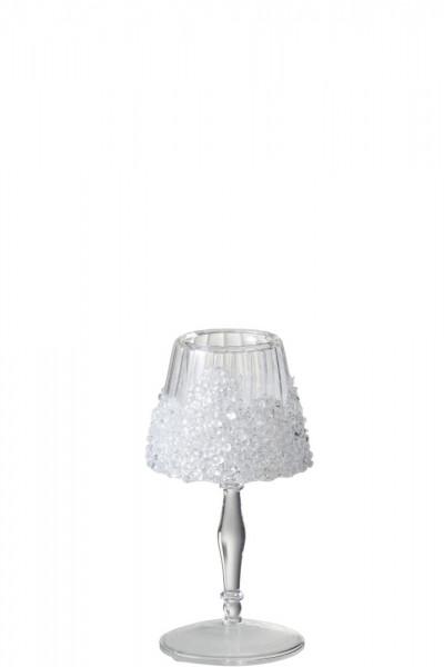 Glaslampe für Teelicht