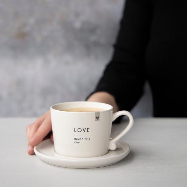 """Tasse klein """"LOVE"""" - Bastion Collections"""