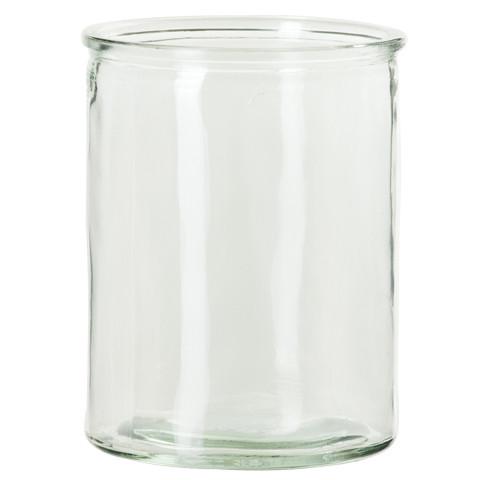 Kerzenglas für Leinenüberzug (M)