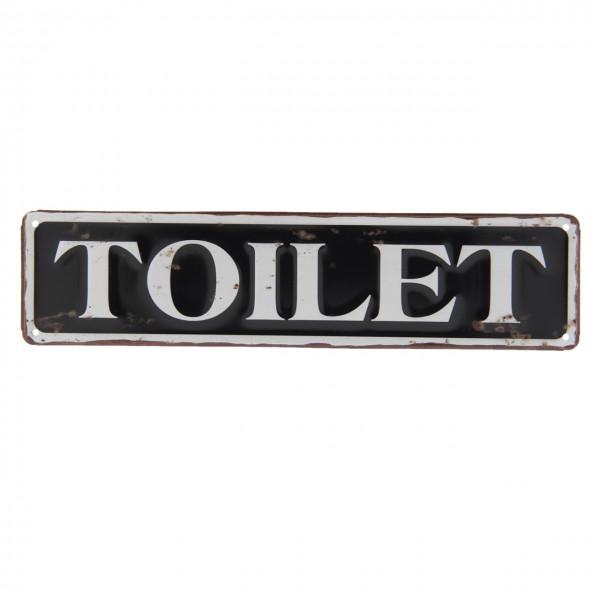"""Schild """"Toilet"""" Clayre&Eef"""