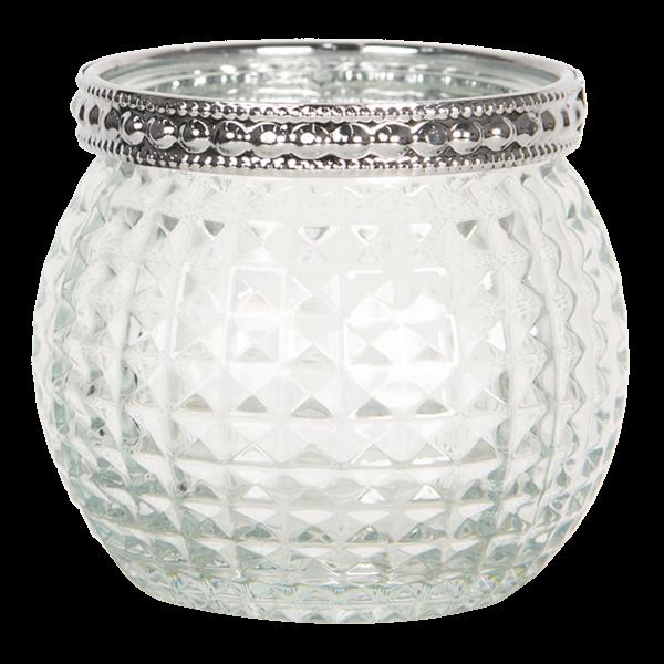 Teelichthalter mit Muster, Clayre&Eef