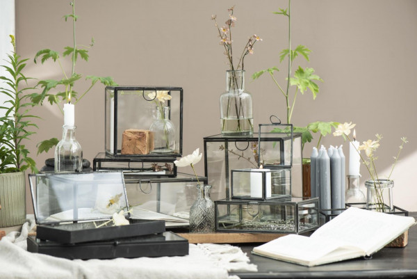Glasbox mit Deckel rechteckig - IB Laursen