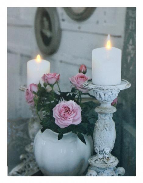 Bild Rose-Kerzen mit LED