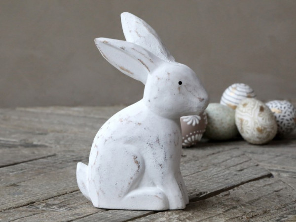 Hase aus Holz, Chic Antique
