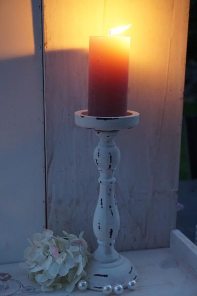 Kerzenleuchter weiss