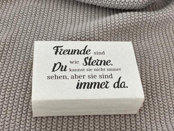 """Seife/Schafmilchseife """"Freunde sind wie Sterne..."""" - Florex"""