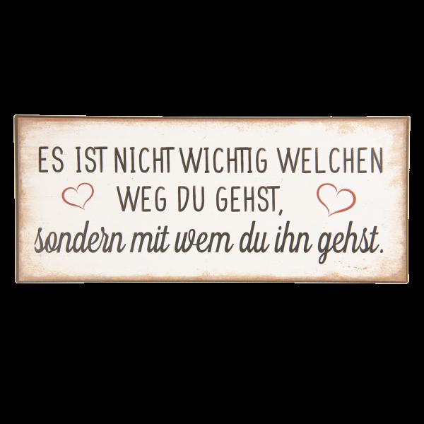 """Schild """"Weg"""" Clayre & Eef"""