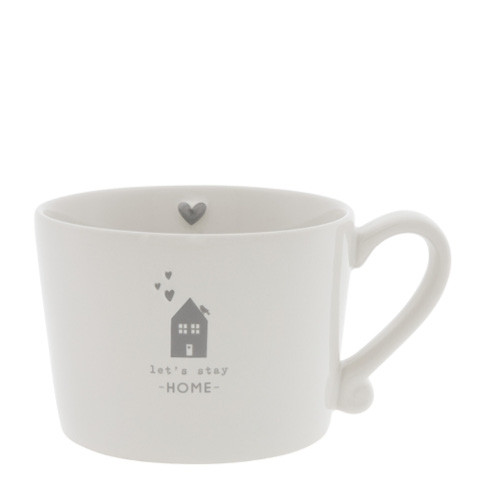 Tasse let`s stay HOME - Bastion Collections