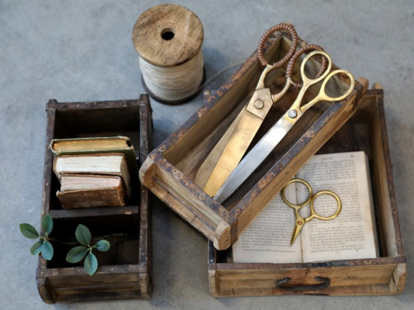 Holz-Ziegelform Chic Antique