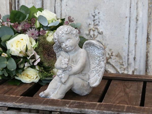 Engel sitzend, Chic Antique