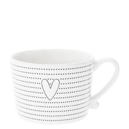 Tasse mit kleinen Herzen und grossem Herz von Bastion Collections