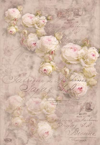 """Geschenkpapier """"Rose"""""""