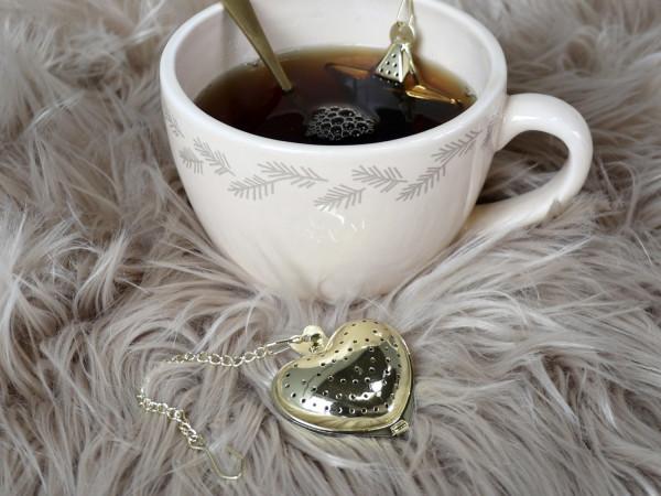 Teeei herzförmig - Chic Antique