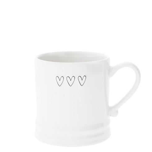Kleine Tasse mit 3 Herzen Bastion Collections